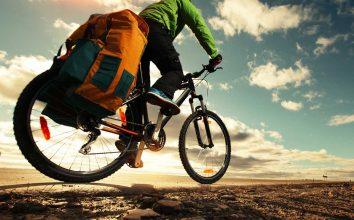 Fahrradtasche oder Rucksack? Transportmöglichkeiten auf dem Fahrrad