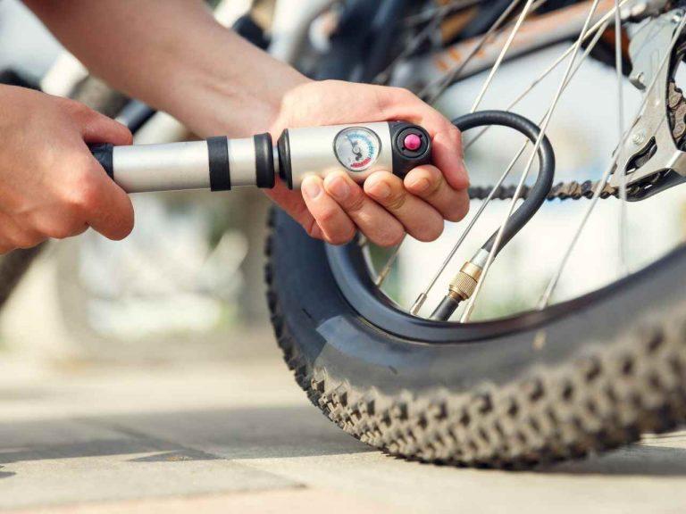 Angenehmes Radfahren mit dem richtigen Reifendruck