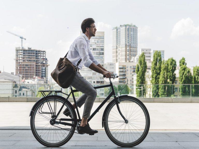Das ist die richtige Sitzposition auf dem Fahrrad