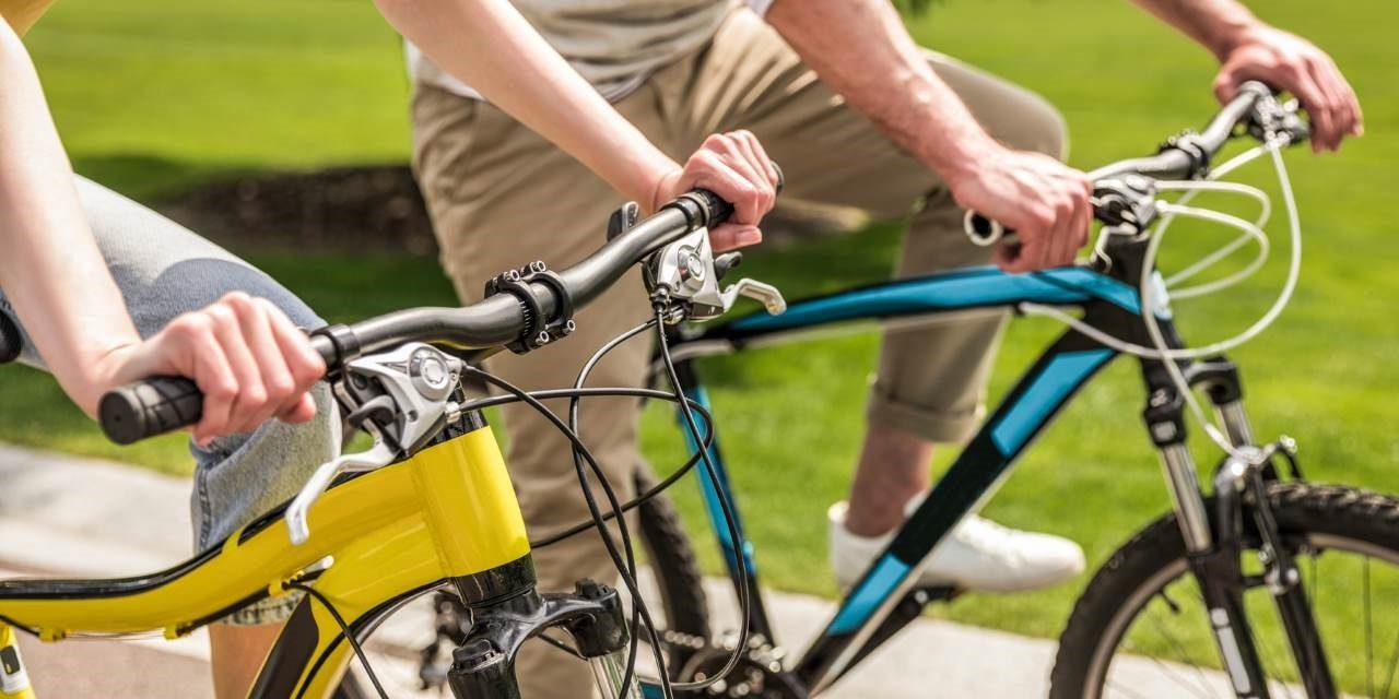 Kalorienverbrauch Radfahren Abnehmen Auf Dem Fahrrad