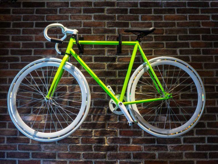 Wandhalterung für das Fahrrad für mehr Platz und Sicherheit