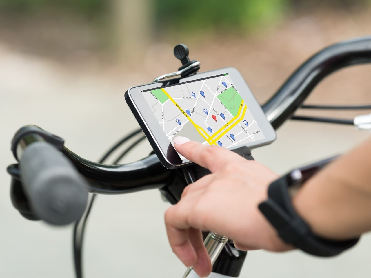 Fahrradroutenplaner für Alltag und Freizeit