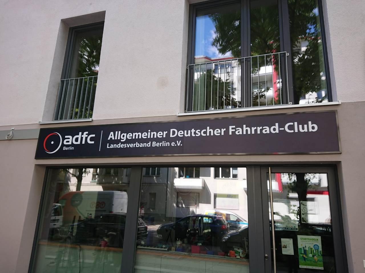 ADFC als Interessengemeinschaft der Fahrradfahrer