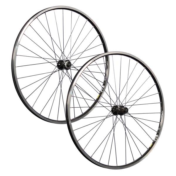 28 Zoll Fahrrad Laufradsatz Set Mavic A119 geöst Shimano TX505 CL Disc schwarz
