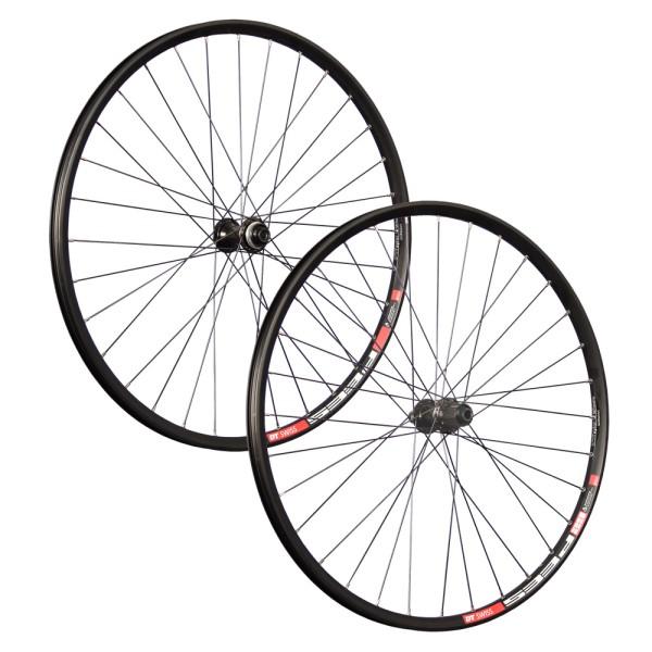 27,5 Zoll Fahrrad Laufradsatz DTSwiss CL Disc Shimano Deore 100x142mm Steckachse
