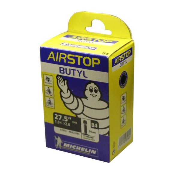 27,5 Zoll Schlauch B4 Airstop Autoventil AV 48-62 Mountainbike
