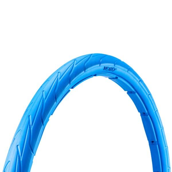 24 Zoll Fahrrad Reifen airless tubeless Mantel pannensicher 44-507 blau