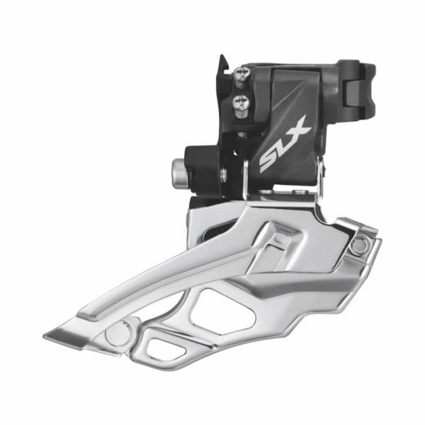 Umwerfer Shimano SLX FD-M676 66-69 Down Swing Dual Pull 2x10